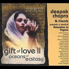FREE US SHIP. on ANY 2 CDs! ~LikeNew CD Deepak Chopra & Friends: A Gift of Love
