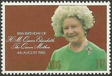 FALKLAND IS 1980 80th Birthday QUEEN ELIZABETH QUEEN MOTHER 1v MNH