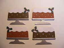 Christmas Seasonal Cake Cakes Celebration Die Cuts (Cards)