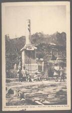 Postcard SAINT-ANDRE FRANCE De Cotone Monument Aux Morts 1907?