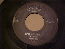 """Blues 45 Vee Jay 593 Jimmy Reed  """"HELP YOURSELF"""" / """"HEADING FOR A FALL"""""""