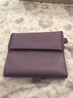 Vintage from 80s Genuine Leather Lavander Wallet