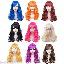 Women Long Big Curly Wig Hair Cosplay Party Costume 20INCH Full Wigs For Cosplay