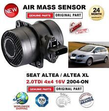 FOR SEAT ALTEA 2.0TDi 4x4 16V XL 2004-ON AIR MASS SENSOR 5 PIN with HOUSING