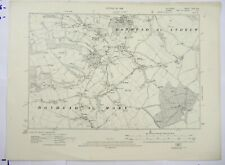 1926 OS 6 inches to a mile Map of Wiltshire – Donhead LXIXSW