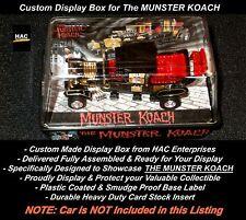 Custom Display Case: The MUNSTERS KOACH 1:64  AW JL  AURORA AFX  DASH Compatible