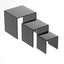 "Set of 3 Mirror Riser 3"", 4"", 5"""