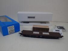 Bramos Zeleznicni Model H0 97023 Plattformwagen DR 66-41-23 Ladegut Bretter OVP