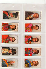 Wills's Cigarettes - Waterloo Reproduction Complete Set - WH