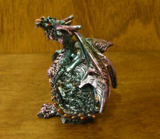"""Gsc Multi Color Dragons Figurine #71385-D New From Retail Store, 2.75"""""""
