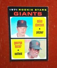 1971 Topps Rookie Stars Giants George Foster # 276 Rookie Card RC (Reds Legend)