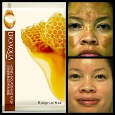 Pure Honey With Collegen peeling Anti Ageing Wrinkle Silk Face Mask