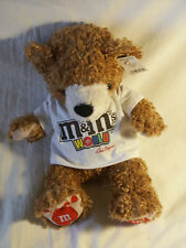 M & M World Bear with Red Paws Las Vegas T-Shirt with Tags 12""
