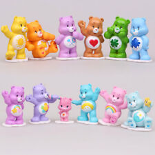 12Pcs/Set Rainbow Bear Action Figure Model Home Miniature Scenery Decoration