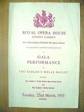 Royal Opera House Covent Garden Opera Gala Performance By Sadler's Wells Ballet