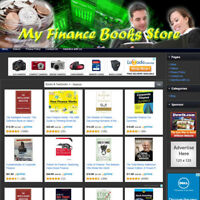 PERSONAL FINANCE BOOK STORE - Best Online Affiliate Business Website For Sale!