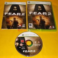 F.E.A.R. 2 PROJECT ORIGIN XBOX 360 FEAR Versione Italiana 1ª Ed ○ COMPLETO - AI