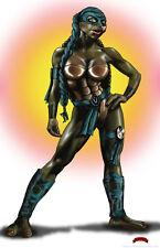 Venus De Milo TMNT comics art sexy ninja turtle 11x17 signed print Dan DeMille