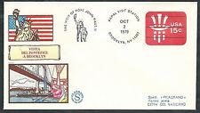 1979 VATICANO VIAGGI DEL PAPA USA NEW YORK BROOKLIN - EV