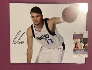 Luka Doncic Dallas Mavericks Autographed 11x14 Studio Photo - JSA Authenticated