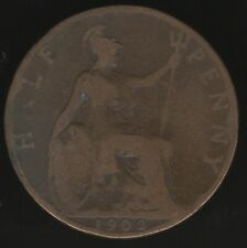 More details for 1902 low tide edward vii halfpenny coin | british coins | pennies2pounds