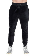 Hoxton Velour Track Pant Small Black TD171 EE 14