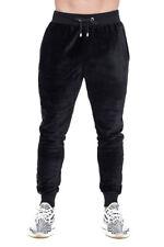 Pantalón de pista Terciopelo Hoxton Pequeño Negro TD171 EE 14