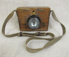 WWII Red Army Sentry Flashlight in Wooden Сase.