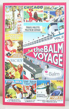 the BALM VOYAGE VOL.II Face Palette for Eyes, Lips & Face. 100% AUTHENTIC.