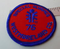 Special Olympics Patch 1976 Bicentennial  Westmoreland County PA Pennsylvania