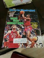 February 4,1985 Walter Berry St. Johns Red Storm Basketball Sports Illustrated *