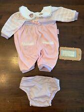 Vintage 2000 Hasbro My Real Baby Interactive Doll Outfit & Battery Cover! RARE!!