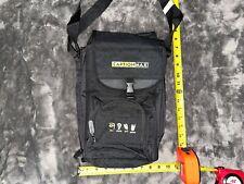 Lunch travel work black shoulder cooler bag storage food hike carrier CaptionMax