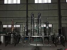 1000 L (264 gall) Stainless Steel / Copper Vodka or Gin still microdistillery