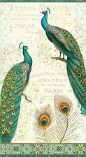 CLEARANCE! Pre-cut Panel Majestic Beauties Peacocks Daphne B Wilmington Prints