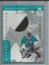 1999-00 BAP Memorabilia Martin Brodeur All-Star Jersey Card J-08 (2 CLR)(Box DP)