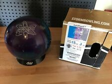 Storm AstroPhysiX  bowling ball 15 LB. 1ST QUALITY NEW UNDRILLED IN BOX!!