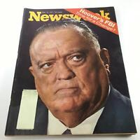 Newsweek Magazine: May 10 1971 - Hoover's FBI Time for a Change?