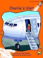 Charlie's Visit: Level 1: Fluency (Red Rocket Readers: Fiction Set B)-ExLibrary