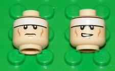 LEGO BATMAN - Minifig, Head Male White Stripe on Forehead Pattern (Front & Back)
