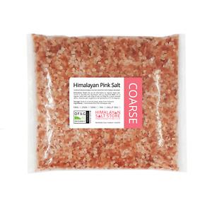 PINK HIMALAYAN ROCK SALT   2KG COARSE   ORGANIC   Natural Food Table / Bath Salt
