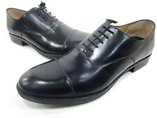 JOSEPH ABBOUD, ARCHER OXFORD, MENS, BLACK, US 13D, LEATHER, NEW IN BOX