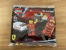 Lego 30196 Shell V-Power Ferrari F1 Pit Crew - Brand New Sealed