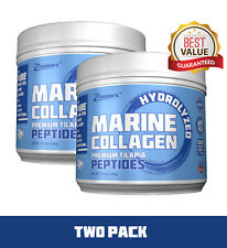 Premium Marine Collagen Peptides (11.3oz) , Best Pure Fish Collagen Protein