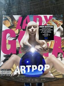 Lady Gaga - Artpop - Limited 2 LP - Blue Vinyl - New and Sealed - SOLD OUT