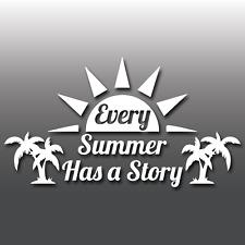 Ogni estate ha una storia avventura portatile per Auto Caravan Bus Adesivo decalcomania in vinile
