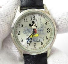 """MICKEY MOUSE,""""75 Years with Mickey"""", Unisex/Kids NICE!! CHARACTER WATCH 538"""