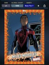 Topps Marvel Collect Digital Miles Morales Base Tire 7 Spiderman