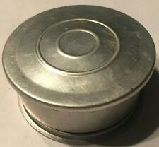 Vintage Folding Aluminum Cup Collapsing Telescoping Lid Camping Travel