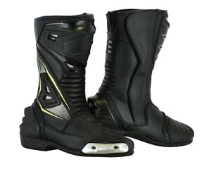 LuxHide Men's Motorcycle Motocross Off-road and ATV riding Racing Boots